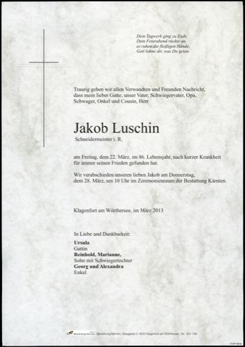 LUSCHIN Jakob