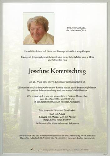 KORENTSCHNIG Josefine