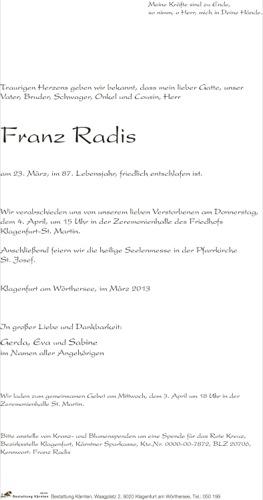 RADIS Franz
