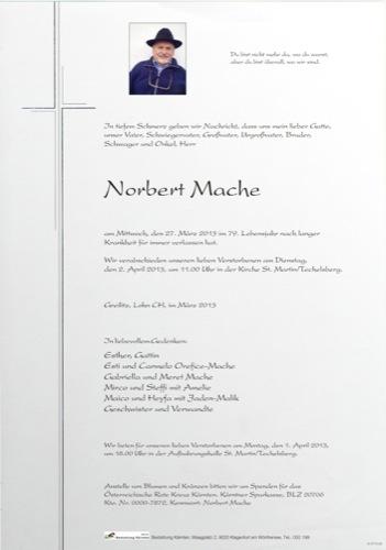 MACHE Norbert