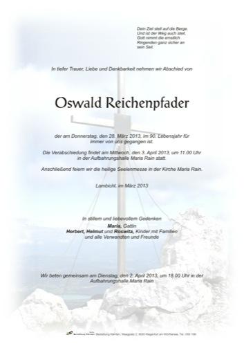 REICHENPFADER Oswald