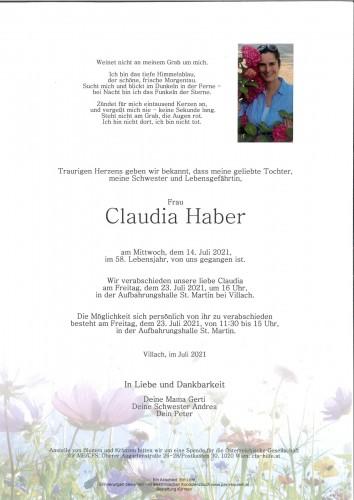 Claudia Haber