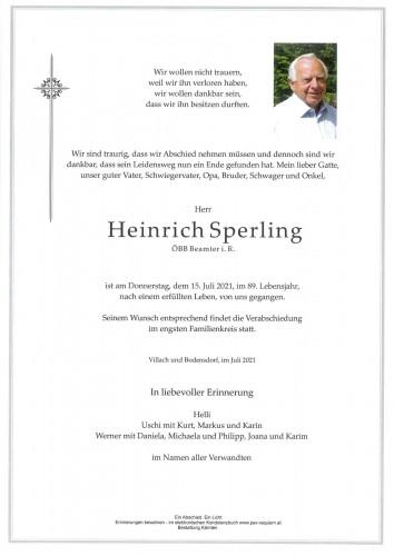 Heinrich Sperling