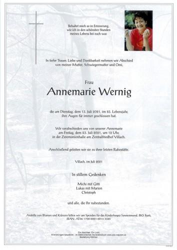 Annemarie Wernig