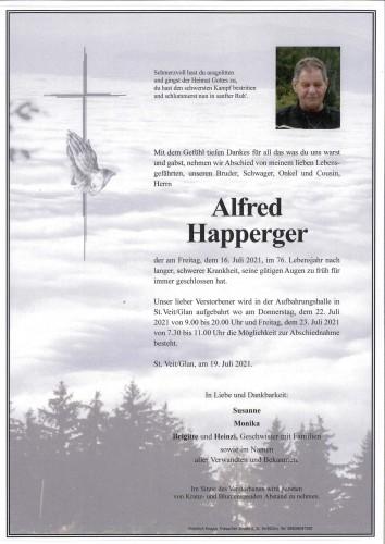 Alfred Happerger