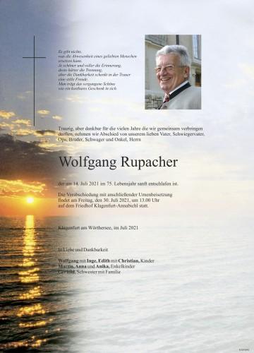 Wolfgang Rupacher