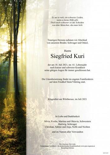 Siegfried Kuri