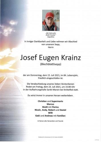 Josef Eugen Krainz
