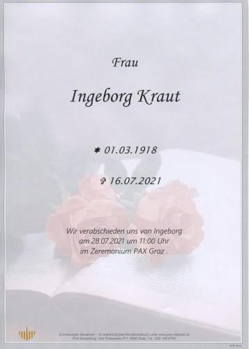 Ingeborg Kraut