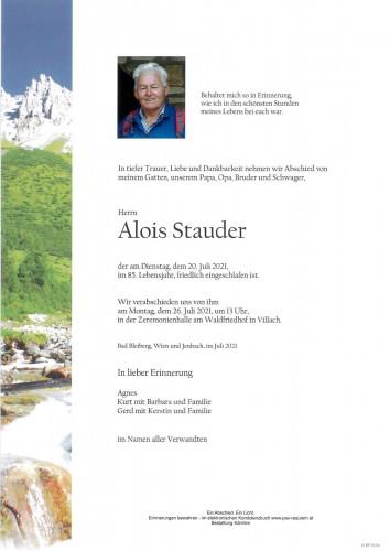 Alois Stauder