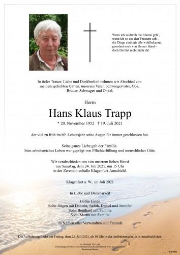 Hans Klaus Trapp