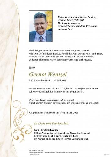 Gernot Wentzel