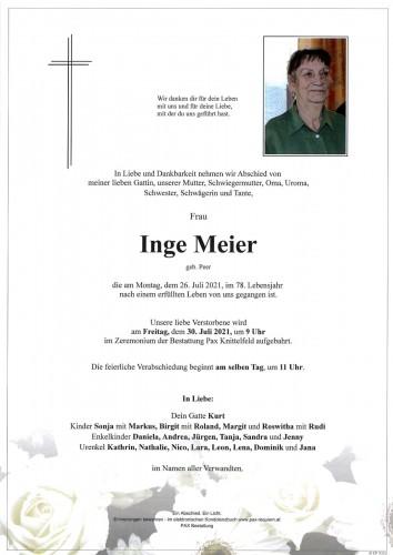 Inge Meier