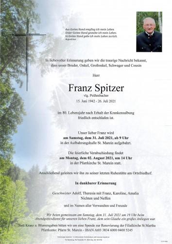 Franz Spitzer