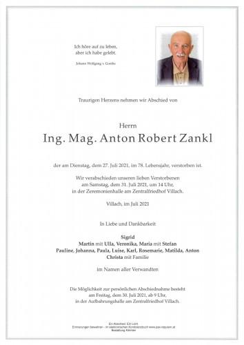 Ing. Mag. Anton Robert Zankl