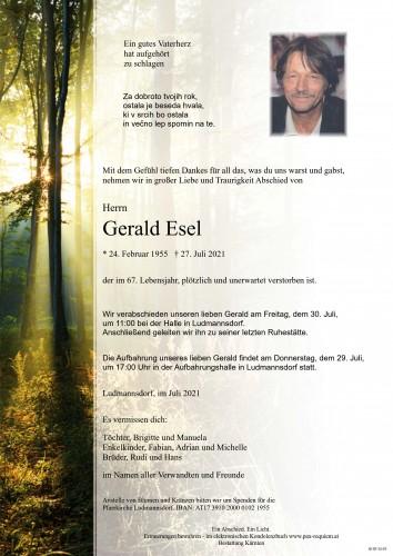 Gerald Esel