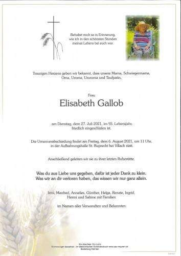 Elisabeth Gallob
