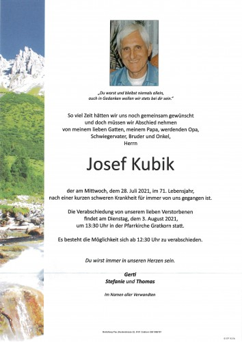 Josef Kubik
