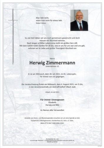 Herwig Zimmermann