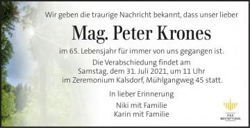 Mag. Peter Krones