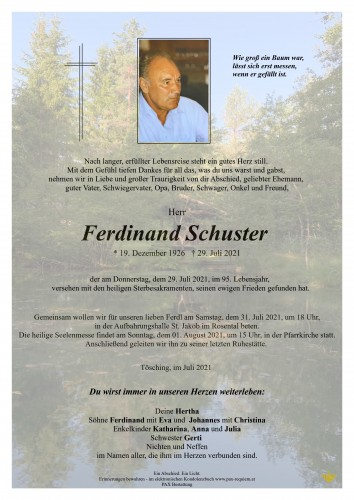 Ferdinand Schuster