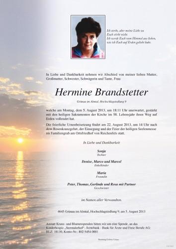 Hermine Brandstetter