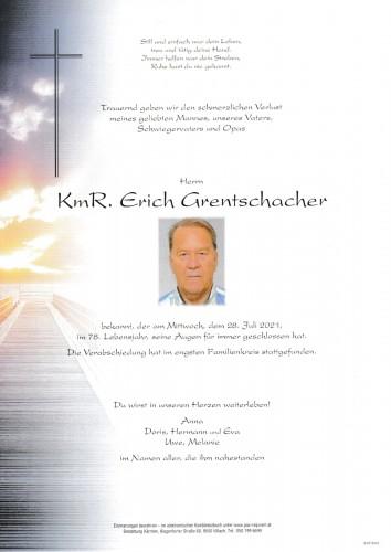 KmR. Erich Grentschacher