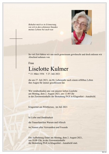 Liselotte Kulmer