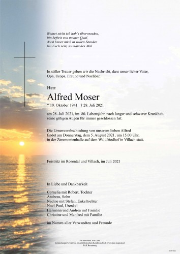 Alfred Moser