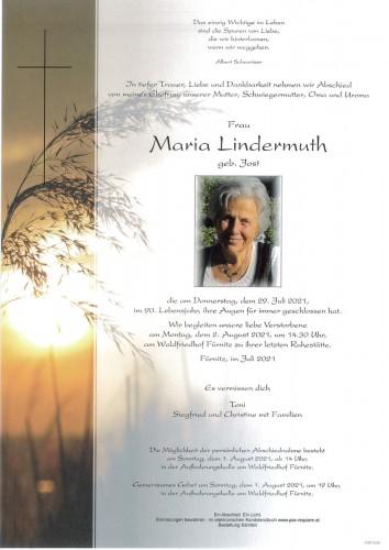 Maria Lindermuth