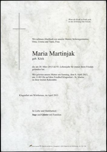 MARTINJAK Maria