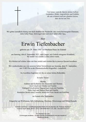 Erwin Tiefenbacher