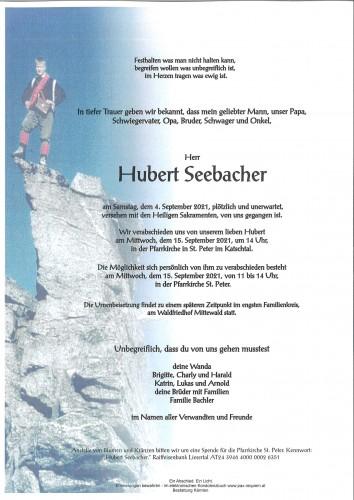 Hubert Seebacher