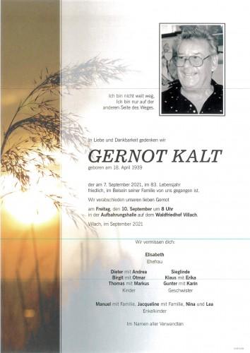 Gernot Kalt