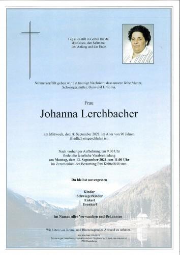 Johanna Lerchbacher