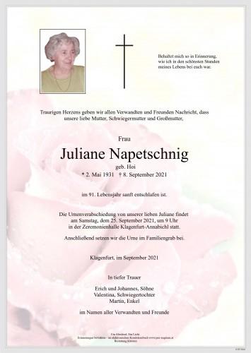 Juliane Napetschnig