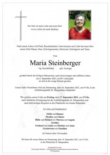 Maria Steinberger