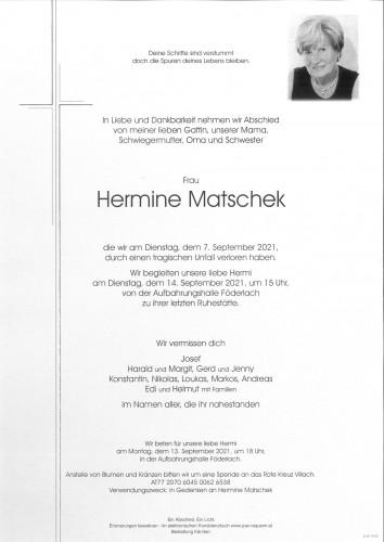Hermine Matschek