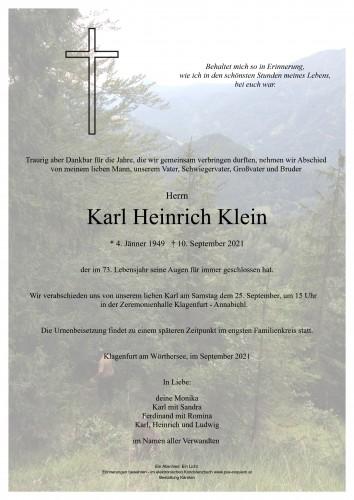 Karl Heinrich Klein