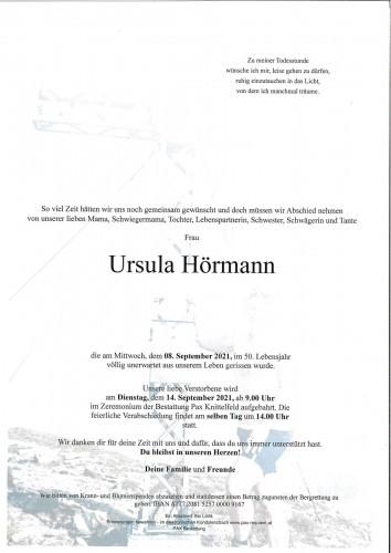 Ursula Hörmann