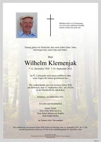 Wilhelm Klemenjak