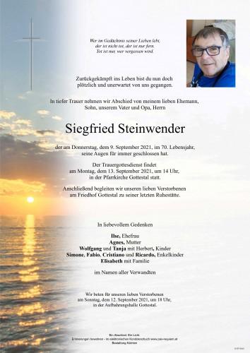Siegfried Steinwender