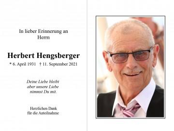 Herbert Hengsberger