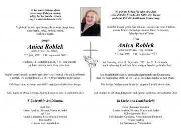 Anica Roblek