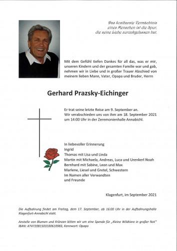 Gerhard Prazsky-Eichinger