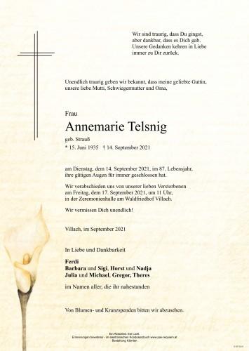 Annemarie Telsnig
