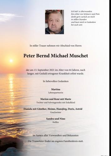 Peter Bernd Michael Muschet