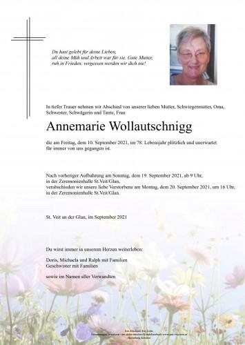 Annemarie Wollautschnigg