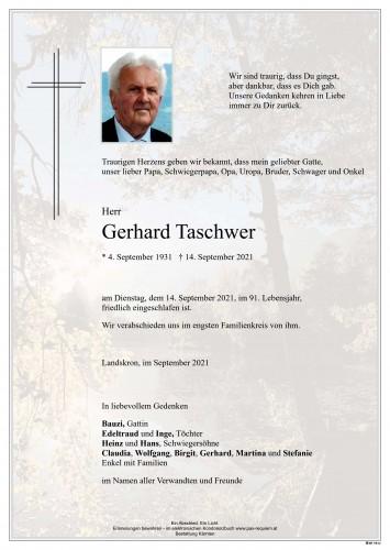 Gerhard Taschwer