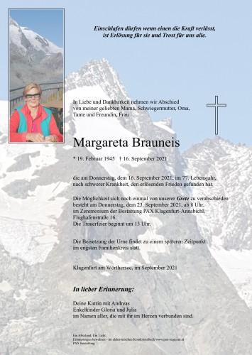 "Margareta Brauneis ""Grete"""